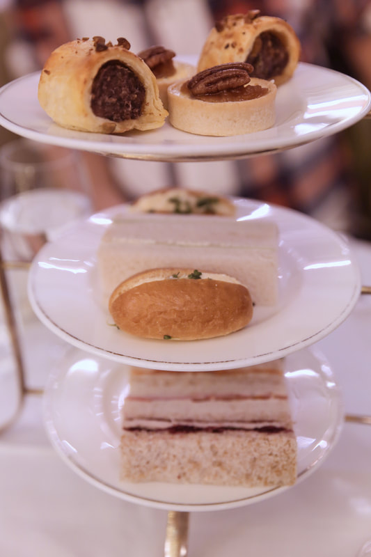 Festive Afternoon tea at The Balmoral, Edinburgh - By The Belle Blog