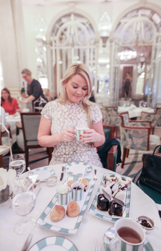 Festive Afternoon Tea at Clarige's London by The Belle Blog