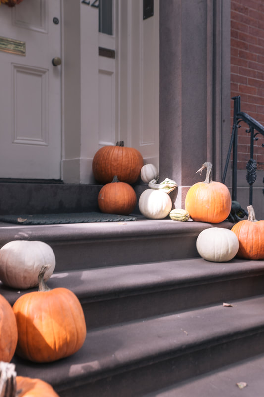 Halloween in Brooklyn by The Belle blog