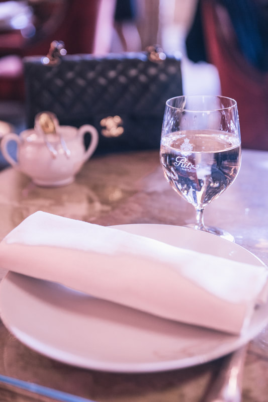 Afternoon tea at the Ritz, Paris by The Belle Blog