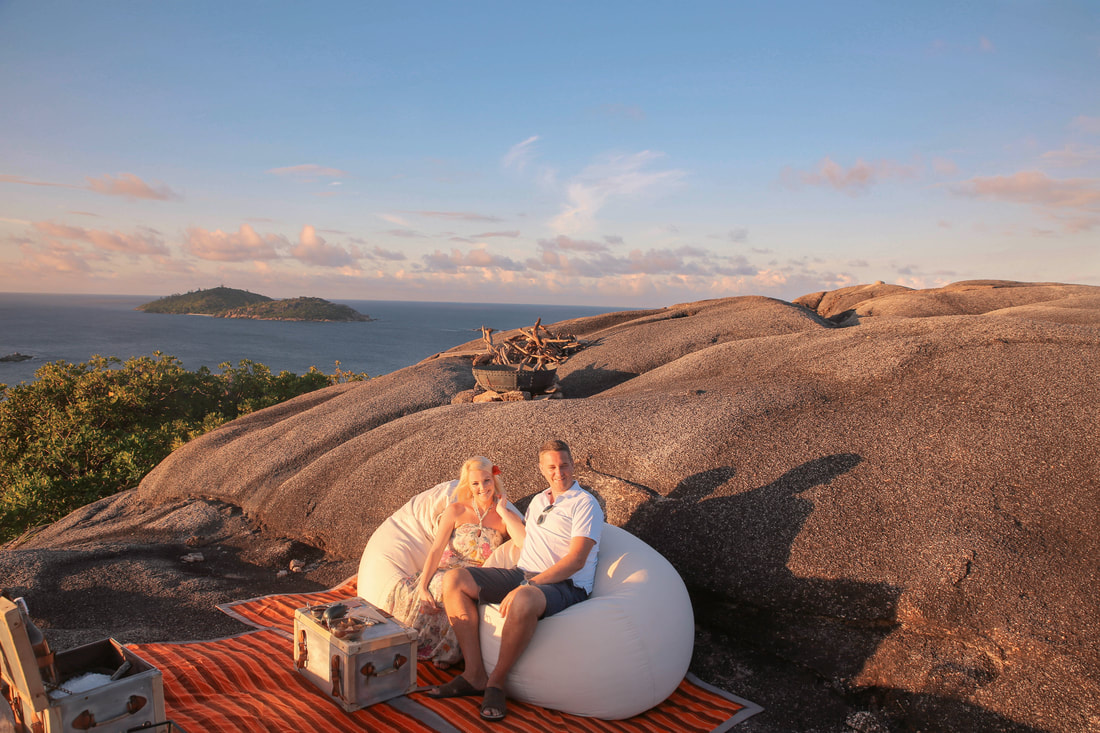 Anniversary celebrations on Félicité Island, Seychelles By The Belle Blog