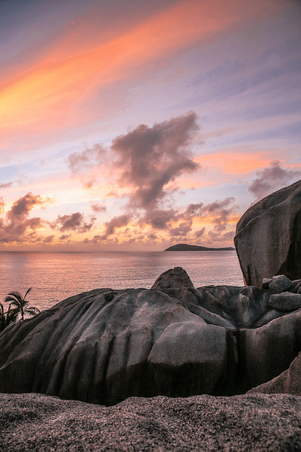 Sunrise in The Seychelles by The Belle Blog