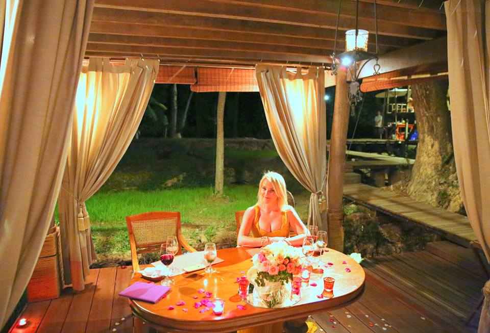 Dinner at the rice barn - Four Seasons Chiang Mai, Thailand by The Belle Blog
