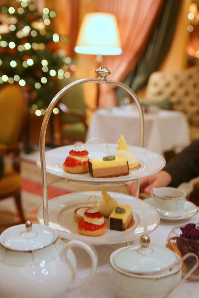 A festive afternoon tea at The Dorchester Hotel, London By The Belle Blog