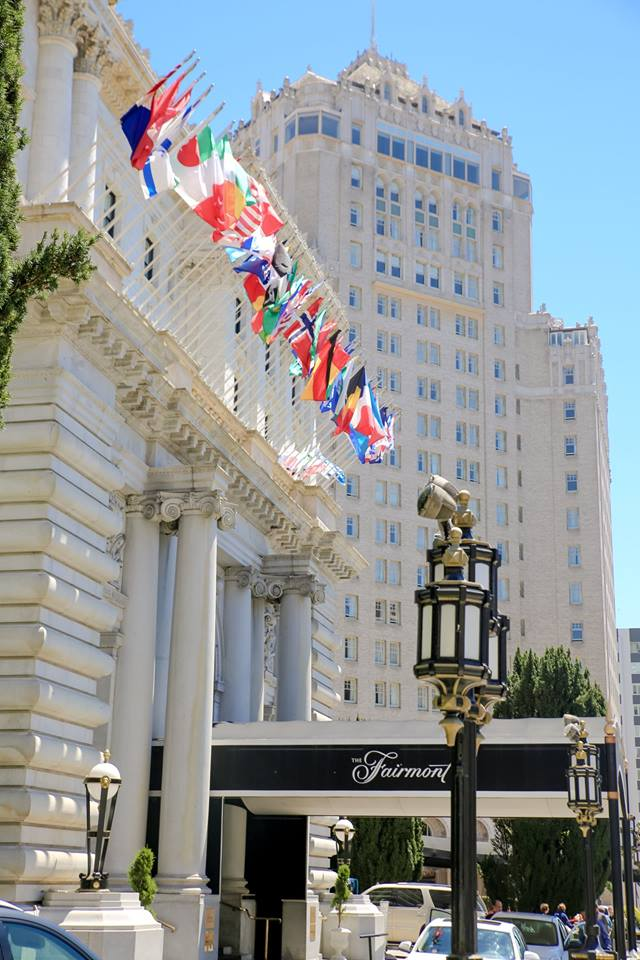 Afternoon tea review, the fairmont hotel, San Francisco by The Belle Blog