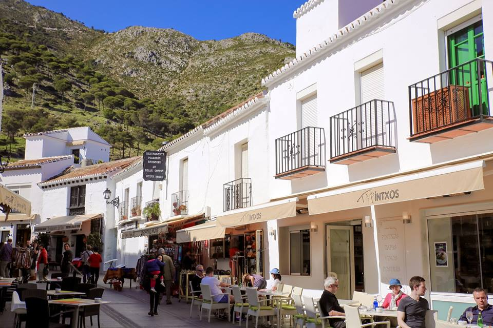 The Little white town of Mijas, Spain by The Belle Blog
