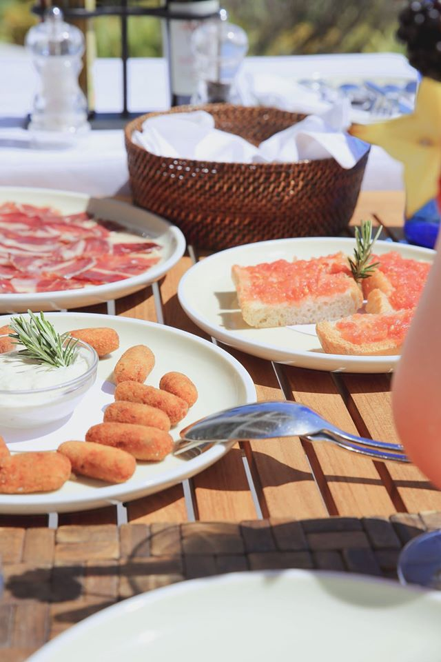Lunch at Finca Cortesin Beach club, Spain By The Belle Blog