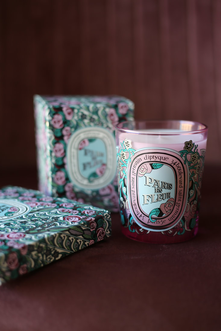 Paris en Fleur, Diptyque by The Belle Blog