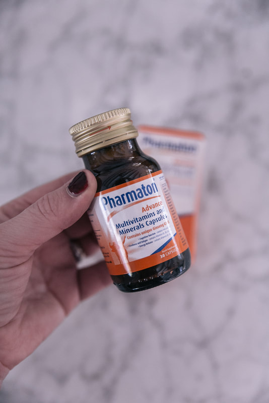 Pharmaton Advance Multivitamin review by The Belle Blog