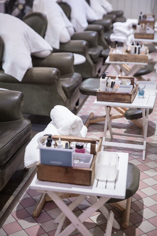 Where to get the best pedicure by The Belle Blog
