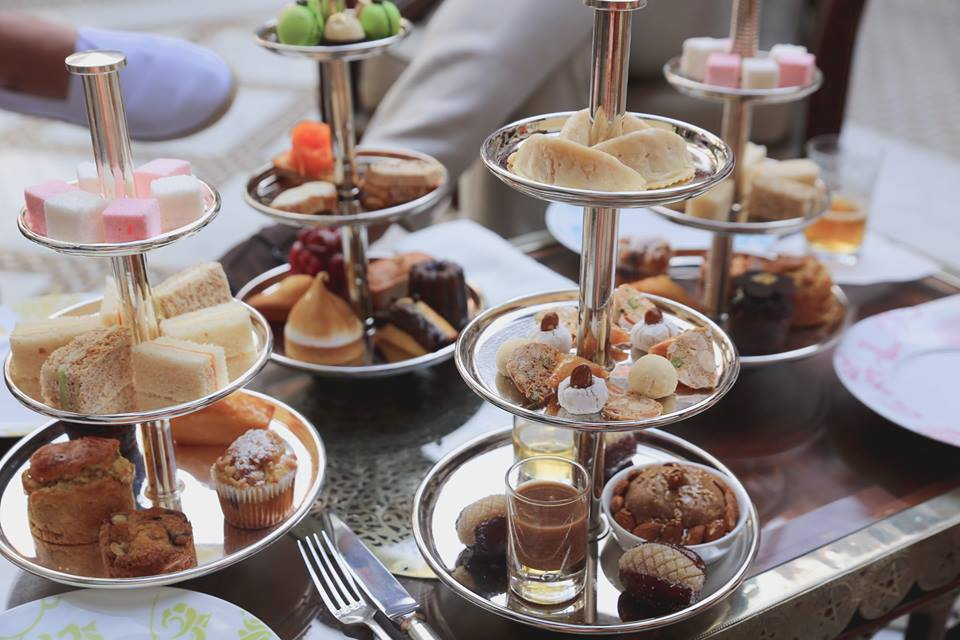Afternoon tea at The Royal Mansour by The Belle Blog