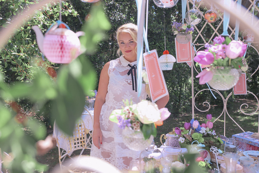 An Alice in wonderland inspired brunch by The Belle Blog