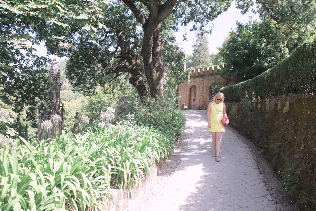 The Quinta da Regaleira, Sintra - Portugal By The Belle Blog