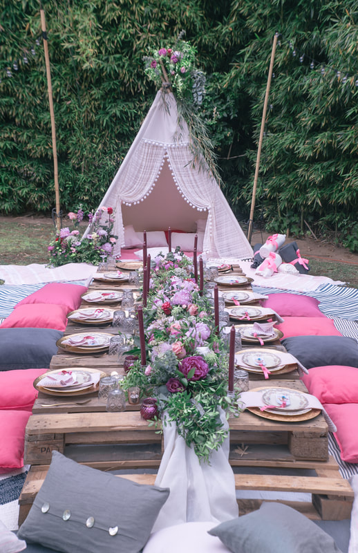 A Boho Summer party By The Belle Blog