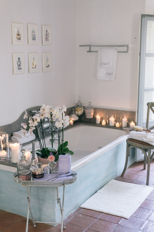 How to create a home spa day  by The Belle Blog