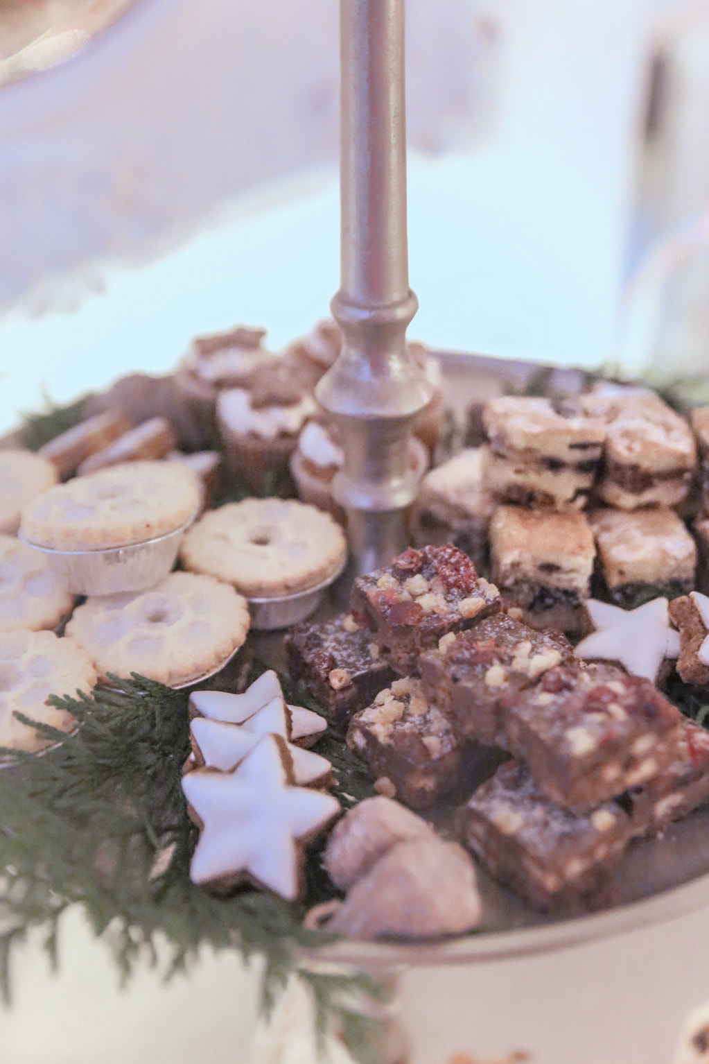 Festive Afternoon Tea at Home by The Belle Blog