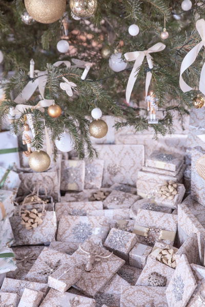 How I decorate for Christmas Part 3 By The Belle Blog