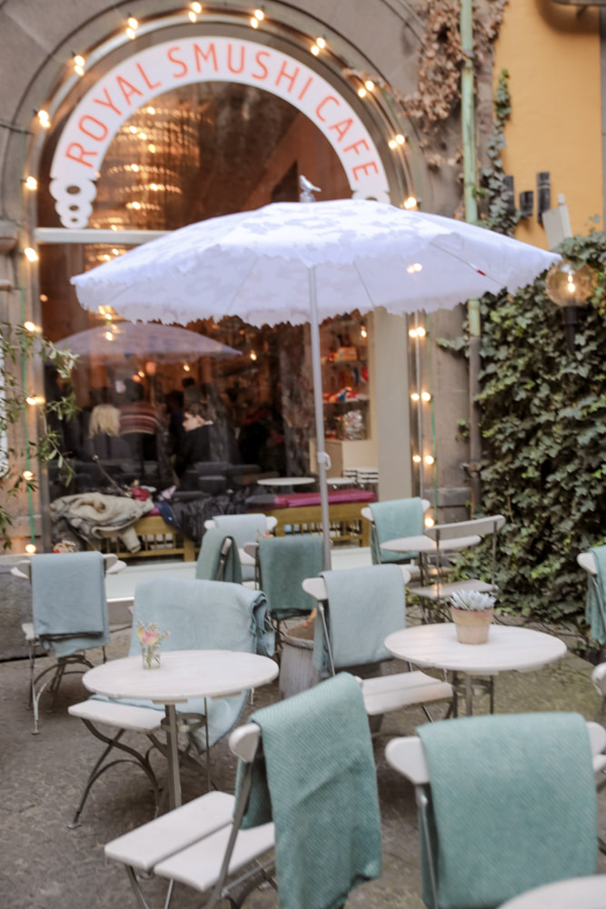 Culinary delights in Copenhagen. Royal smushi cafe by The Belle Blog