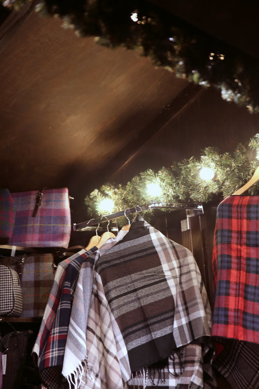 Edinburgh Christmas markets and The Dome by The Belle Blog