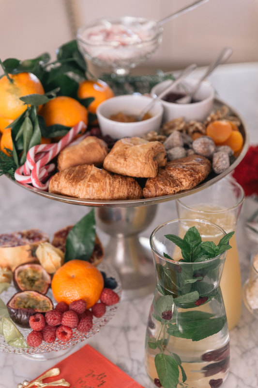 A Small and intimate Christmas brunch by The Belle Blog