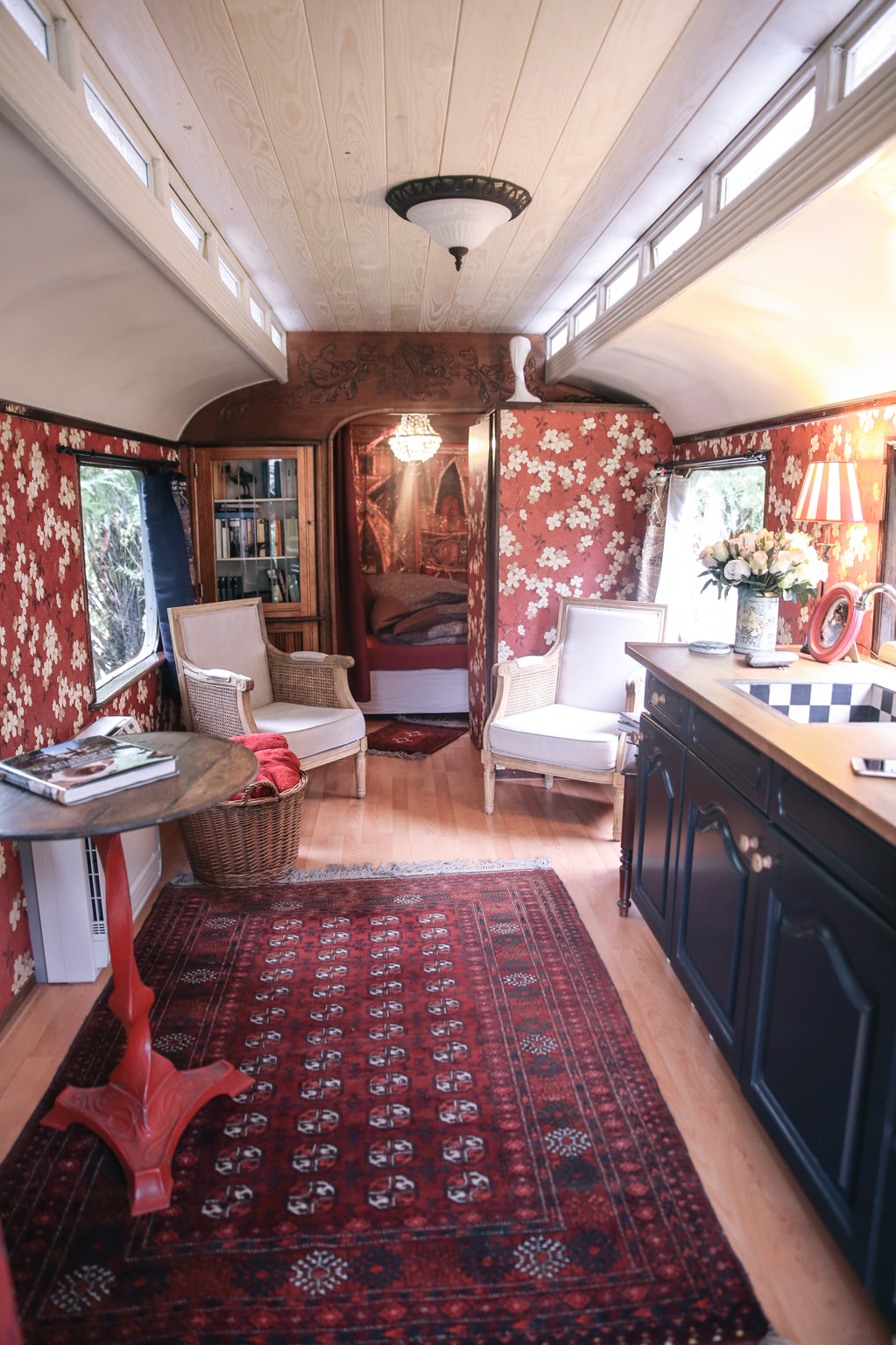 Gypsy wagon glamping, Hallstatt - Austria by The Belle Blog