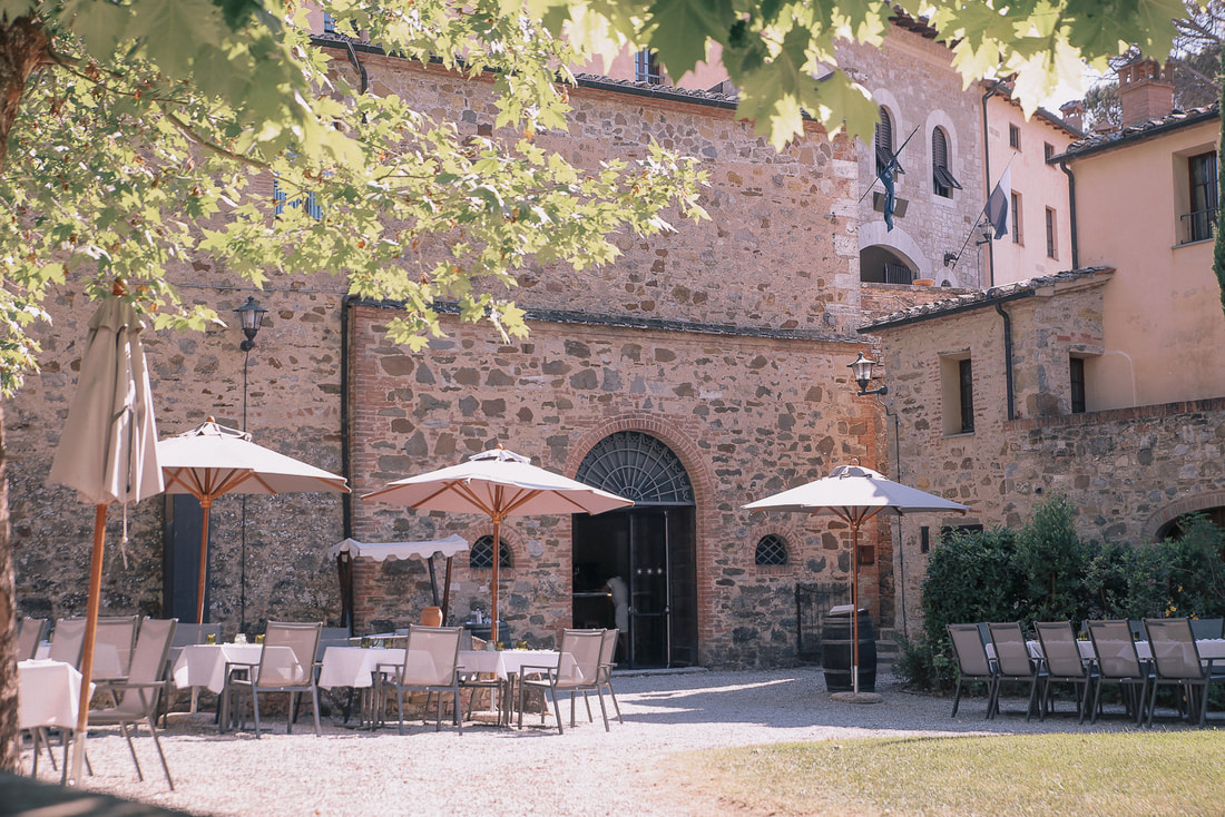 Castel Monastero, Tuscany. The prefect base for exploring San Gimignano, Monteriggioni and Volterra by The Belle Blog