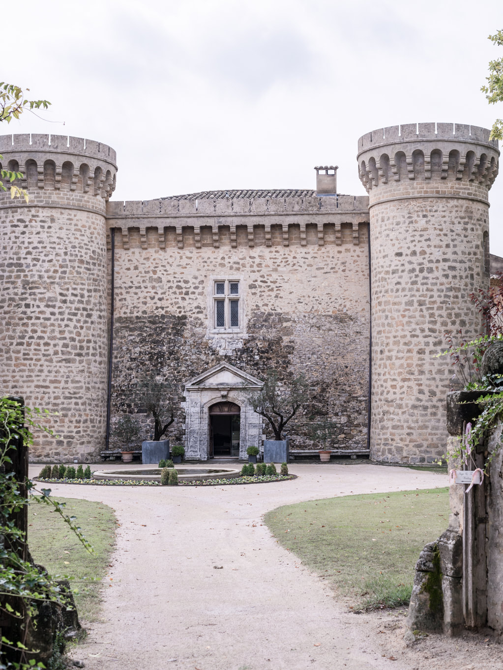Our wedding in Provence at Chateau de Massillan by The Belle Blog