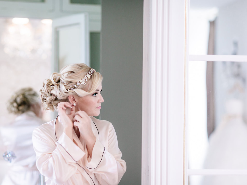 As the bride, on your wedding day, all eyes will be on you. No matter how confident you are, this can be daunting for anyone and even more so if you have insecurities about your appearance. If you want to feel at your most confident on the day and and look stunning in your wedding photos, here are some prep ideas you can do in the leadup to your wedding.   Work on your physique It doesn't matter what starting shape or size you're at, chances are you'll want to make some changes to your physique before your wedding day. Maybe your dress is tight fitting or shows off an area you'd usually cover like your arms and shoulders, improving your physique can help you to feel confident on the day. Your changes might involve weight loss to totally transform yourself, or just a simple exercise regime to tone and sculpt a little depending on where you're currently at and where you want to be. If you work with a personal trainer you're likely to achieve your goals more quickly as they can recommend exercises that will work well for the shape you're trying to gain.   Improve your skin and hair As the blushing bride you want your skin to be radiant and your hair to be shiny and beautiful on your wedding day. Starting with skin, if you already have skin issues such as acne or dermatitis, visit your GP to get this under control. From there, build a skincare regime that works for you or visit a spa and have a facial as they will be able to give you product recommendations based on your skin type. Stick with it, and don't make any changes to your skincare routine in the weeks leading up to your wedding as you don't want to risk any kind of breakout or reaction to a new product. For hair, visit your hairdresser and have the split ends removed. If you want a drastic change of colour, this will probably need to be done in stages which can take a number of months so it's worth getting onto it early. From there you can maintain the cut and colour by attending regular hairdressing appointments, and using the right products in between visits.  Have your teeth whitened Your wedding day is one of the happiest days of your life, chances are you'll be smiling- a lot! Have your teeth whitened so that you can smile with pride, any dentist can do this and it's not as pricey as you might think. If you want or need more extensive dental work doing then again this can take time so visit the dentist early on when you first get engaged to give yourself enough time.   Go to dance lessons Your appearance is one thing, but your demeanour and confidence levels are another. If one thing that scares you about your wedding is having to do the first dance with all eyes on you and your partner, why not book some dance lessons? Not only is it a fun thing to do with your husband to be, but you'll go into it on the day with much more confidence.