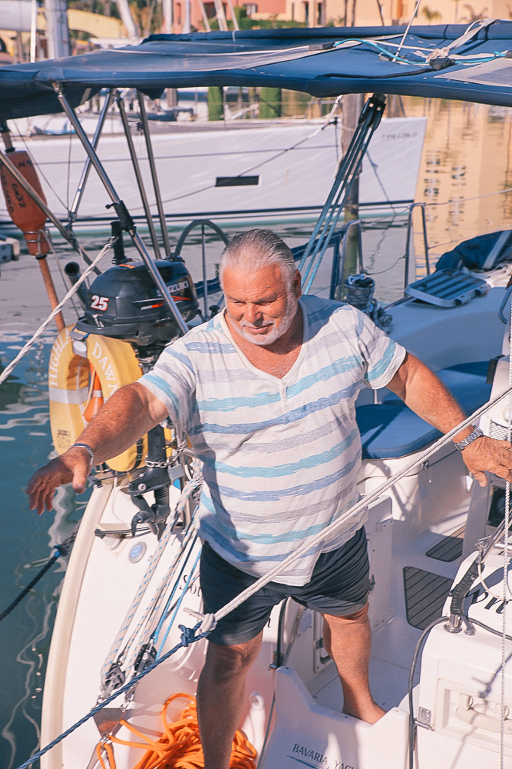 A surprise boat charter around the port of Sotogrande near Marbella, Spain by The Belle Blog