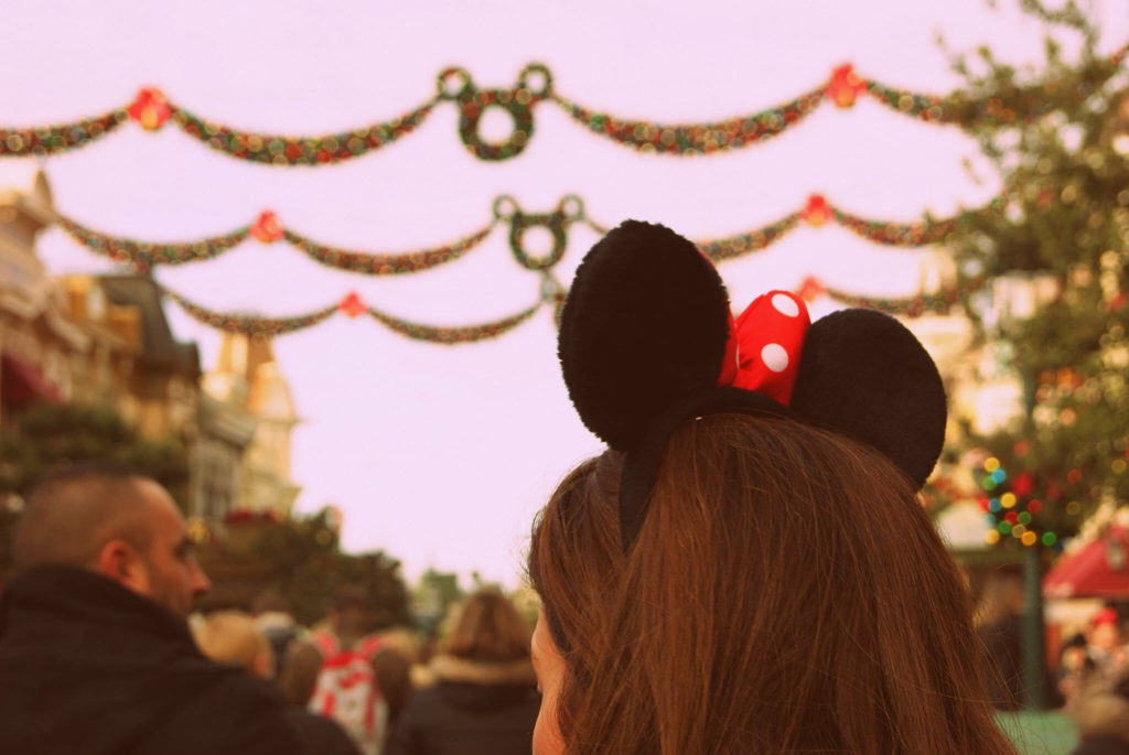 The magical kingdom  Disney land Paris, at Christmas by The Belle Blog