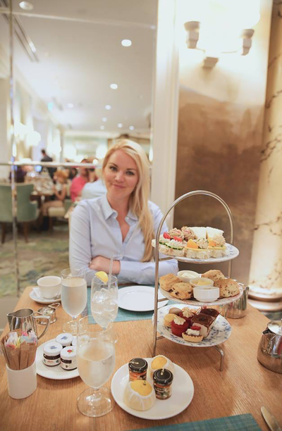 Afternoon tea at The Fairmont Hotel, San Francisco By The Belle Blog