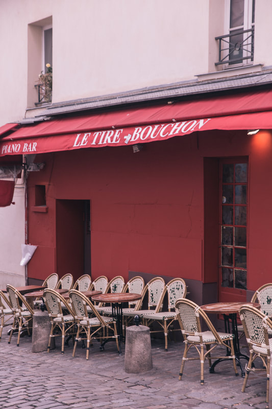 Place du Tertre. Montmarte, Paris by The Belle Blog