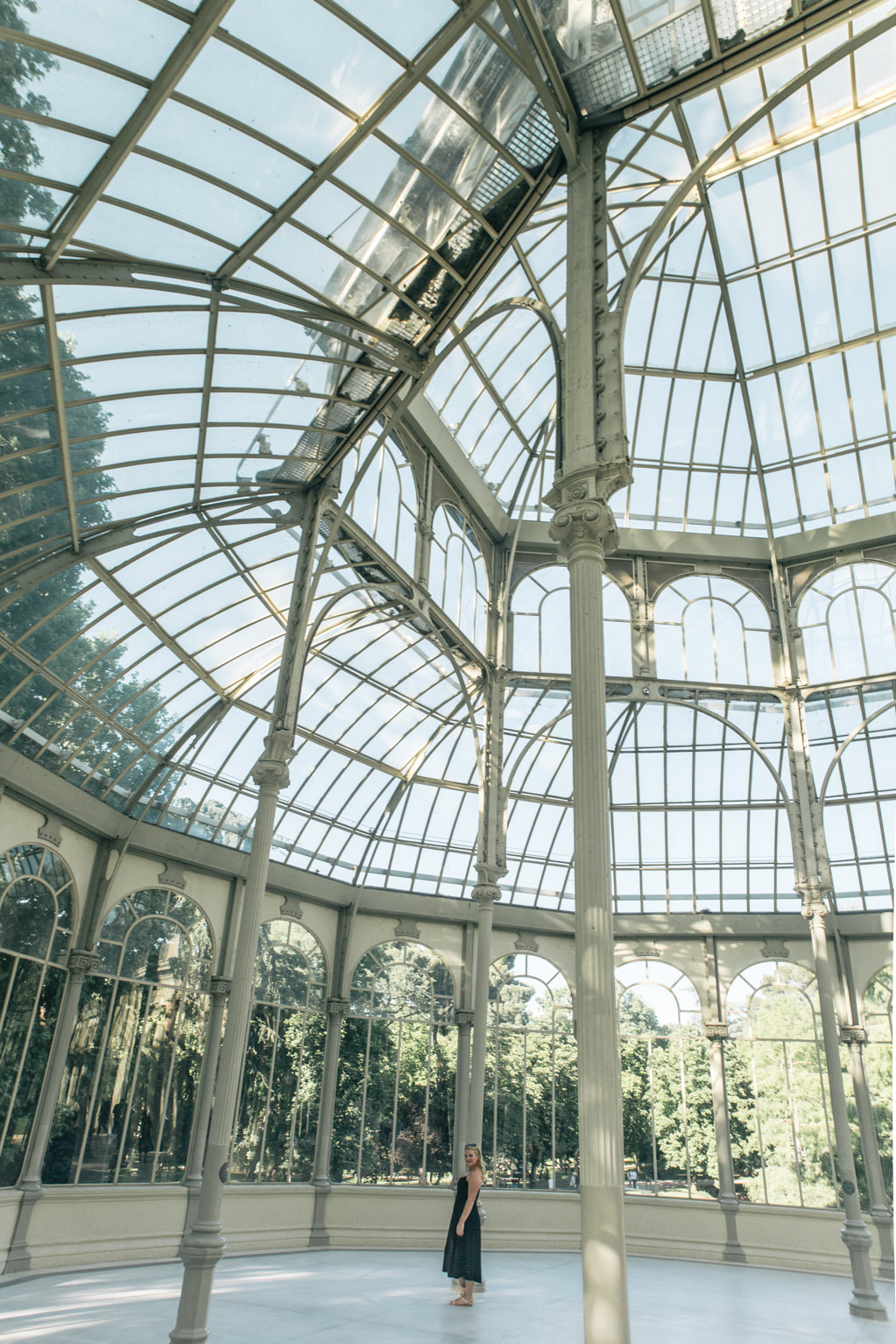 The Palacio de Cristal, Madrid by The Belle Blog