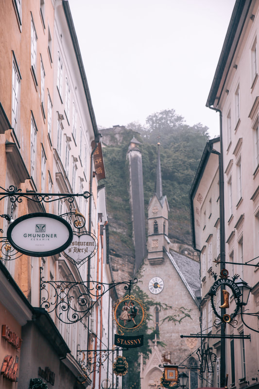 Rainy days in Salzburg by The Belle Blog