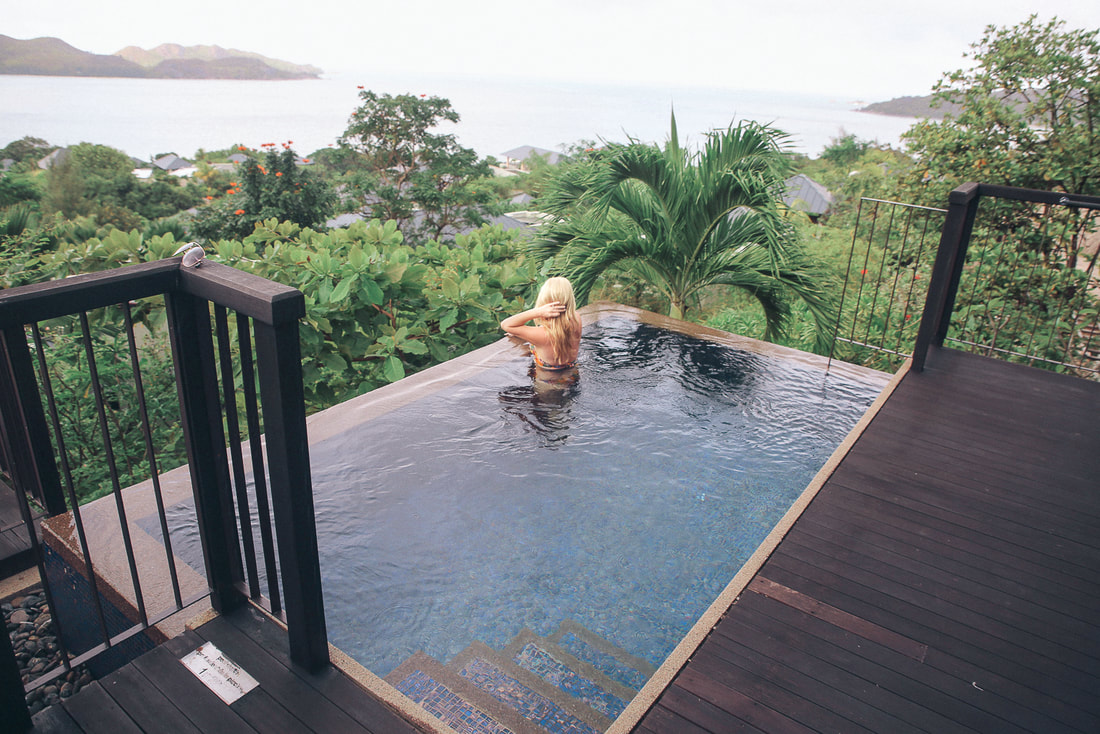 Raffles Hotel, The Seychelles by The Belle Blog