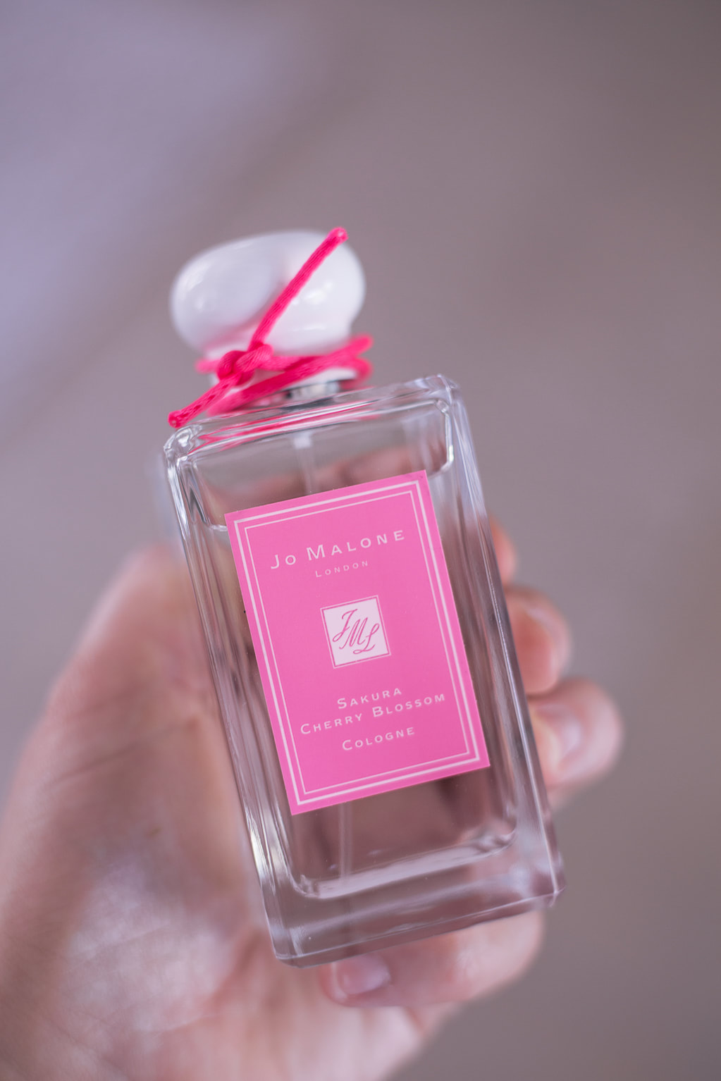 Jo Malone Sakura Cherry Blossom Cologne By The Belle Blog