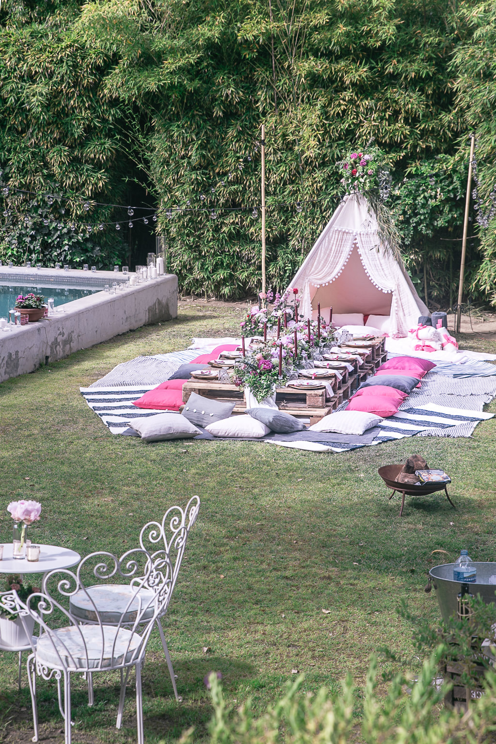 Bellechella, a summer teepee party by The Belle Blog