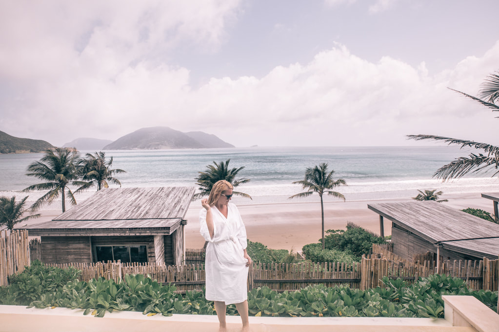 How to relax on Vacation By The Belle Blog